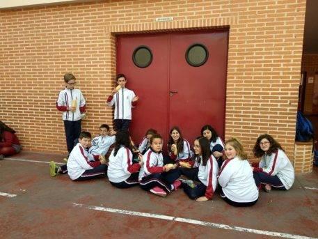 Dia del Bocadillo en el colegio Nuestra Señora de las Mercedes de Herencia2