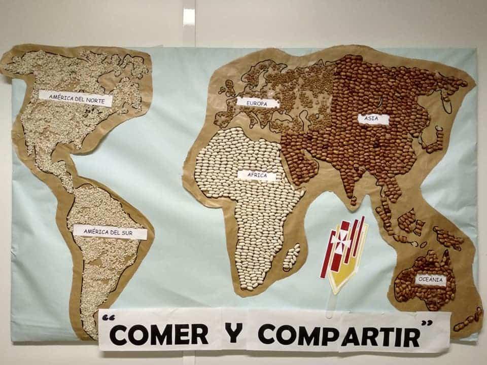 Dia del bocadillo mercedarias Herencia - El Colegio Nuestra Señora de las Mercedes celebra en día del bocadillo en favor de Manos Unidad