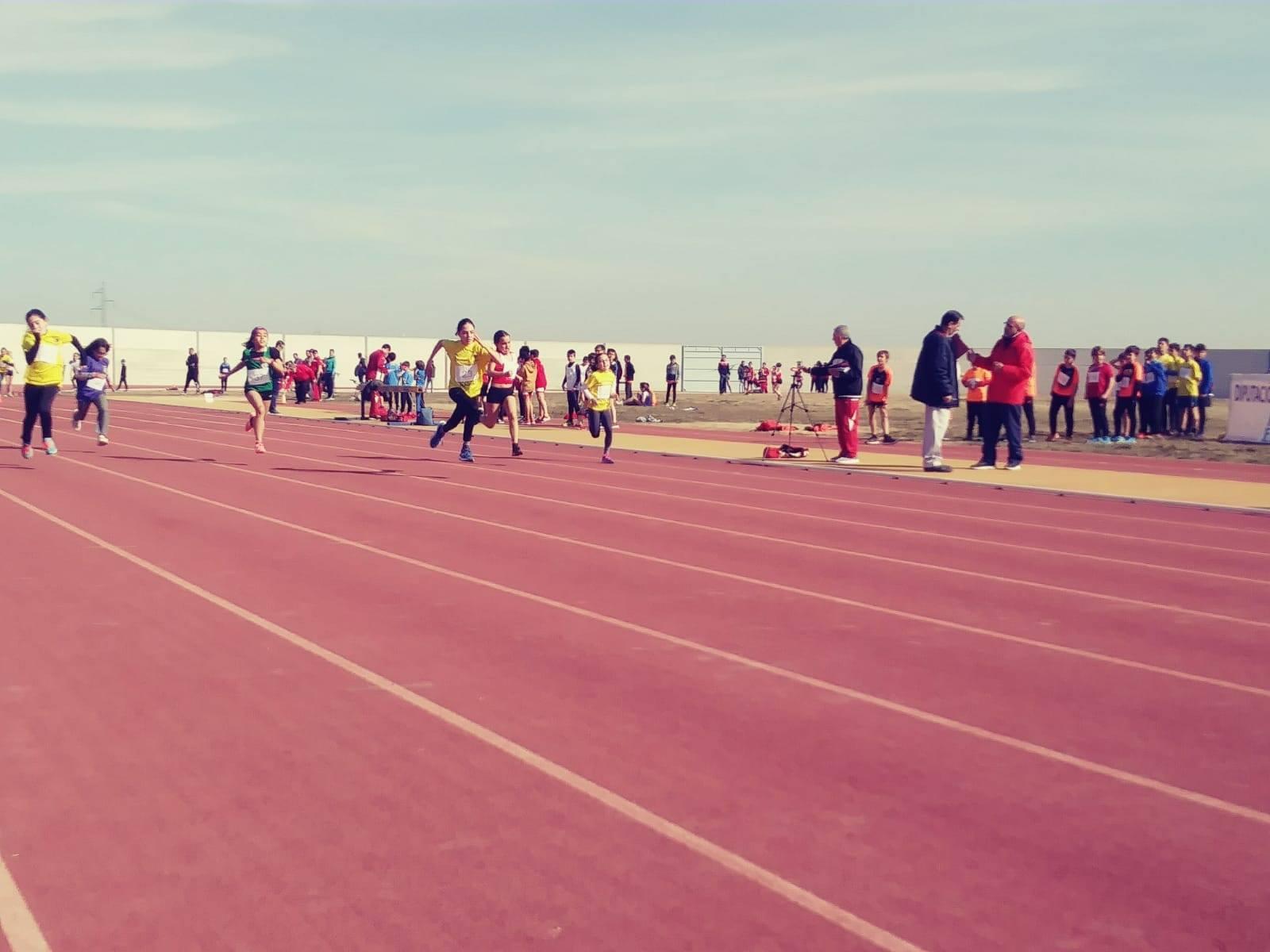 Herencianos en la primera jornada provincial de Atletismo en Manzanares 6