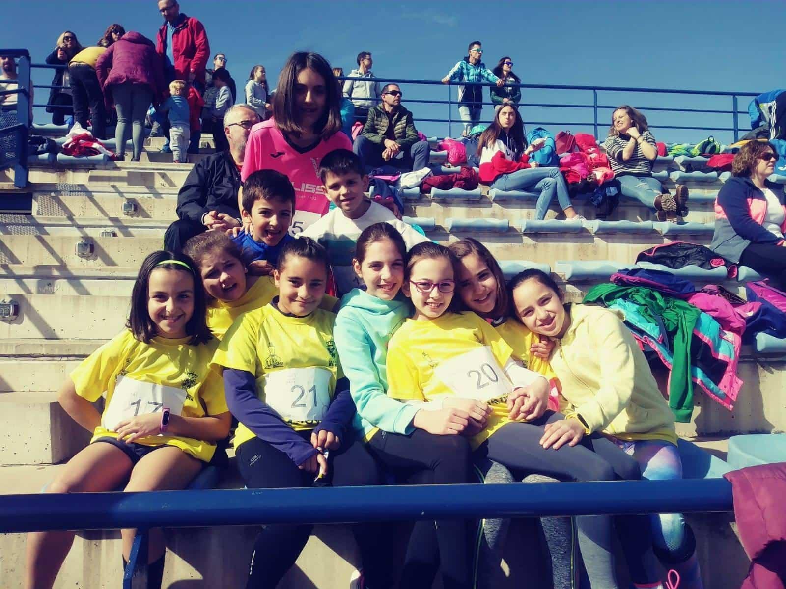 Herencianos en la primera jornada provincial de Atletismo en Manzanares 5