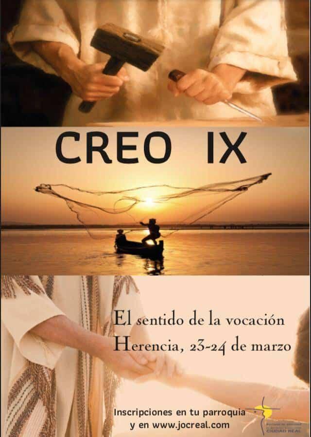 Herencia acogerá la novena edición del encuentro diocesano CREO 3