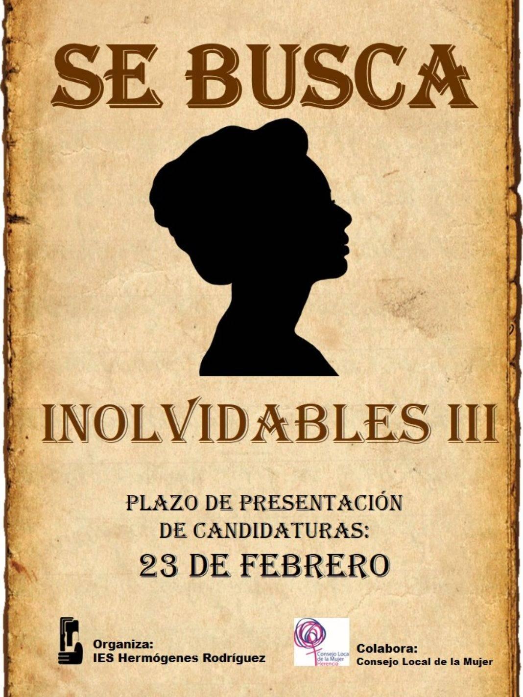 Inolvidables del IS Hermógenes Rodríguez 1068x1424 - EL IES Hermógenes Rodríguez abre el plazo para su galardón a las mujeres Inolvidables