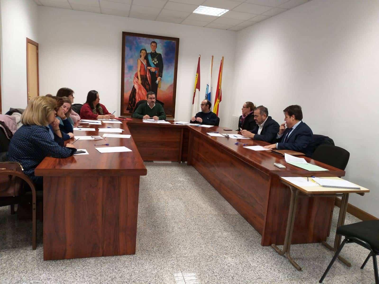 Junta Directiva Mancha Norte Enero 2019 - Mancha Norte favorece la participación de los colectivos sociales en la comarca a través de la financiación europea