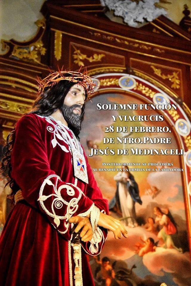 Via Crucis Jesús de Medinaceli de Herencia - Herencia celebra el vía crucis de Jesús de Medinaceli el jueves 28 de febrero