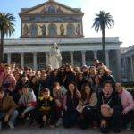 Alumnos y alumnas de religión del IES Hermógenes Rodríguez viajan a Roma 22