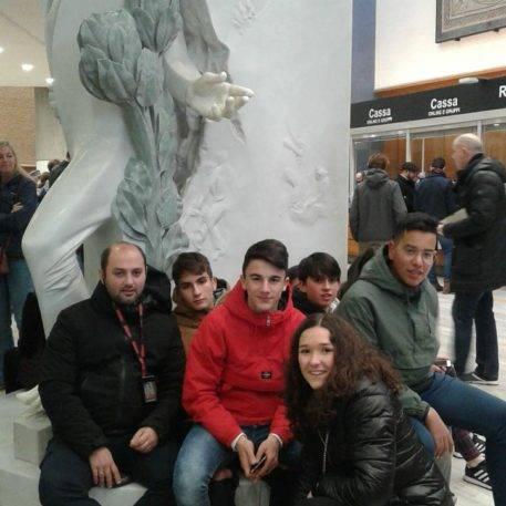 Viaje a Roma del departamento de religión del IES Hermógenes Rodríguez de Herencia07