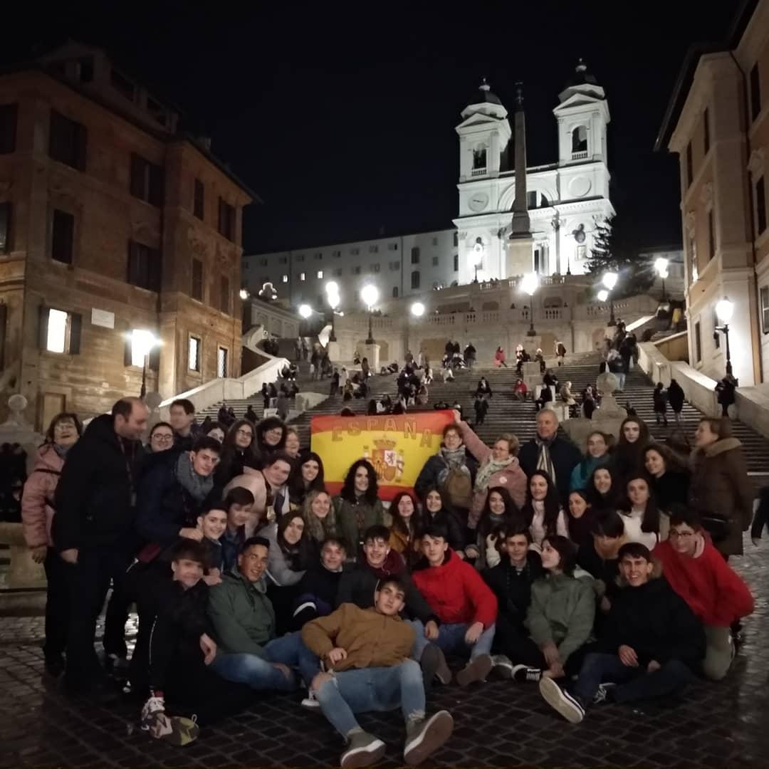 Alumnos y alumnas de religión del IES Hermógenes Rodríguez viajan a Roma 7
