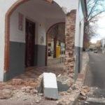 La Ermita de La Encarnación sufre daños por un supuesto accidente de tráfico 3