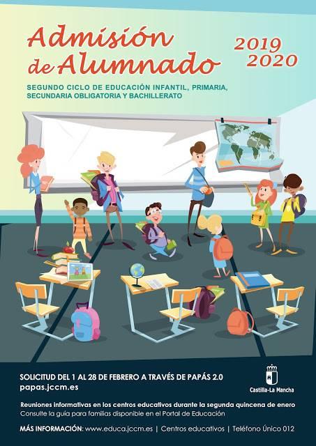 admisión alumnado IES Hermógenes Rodríguez - Jornadas de puertas abiertas en el IES Hermógenes Rodríguez