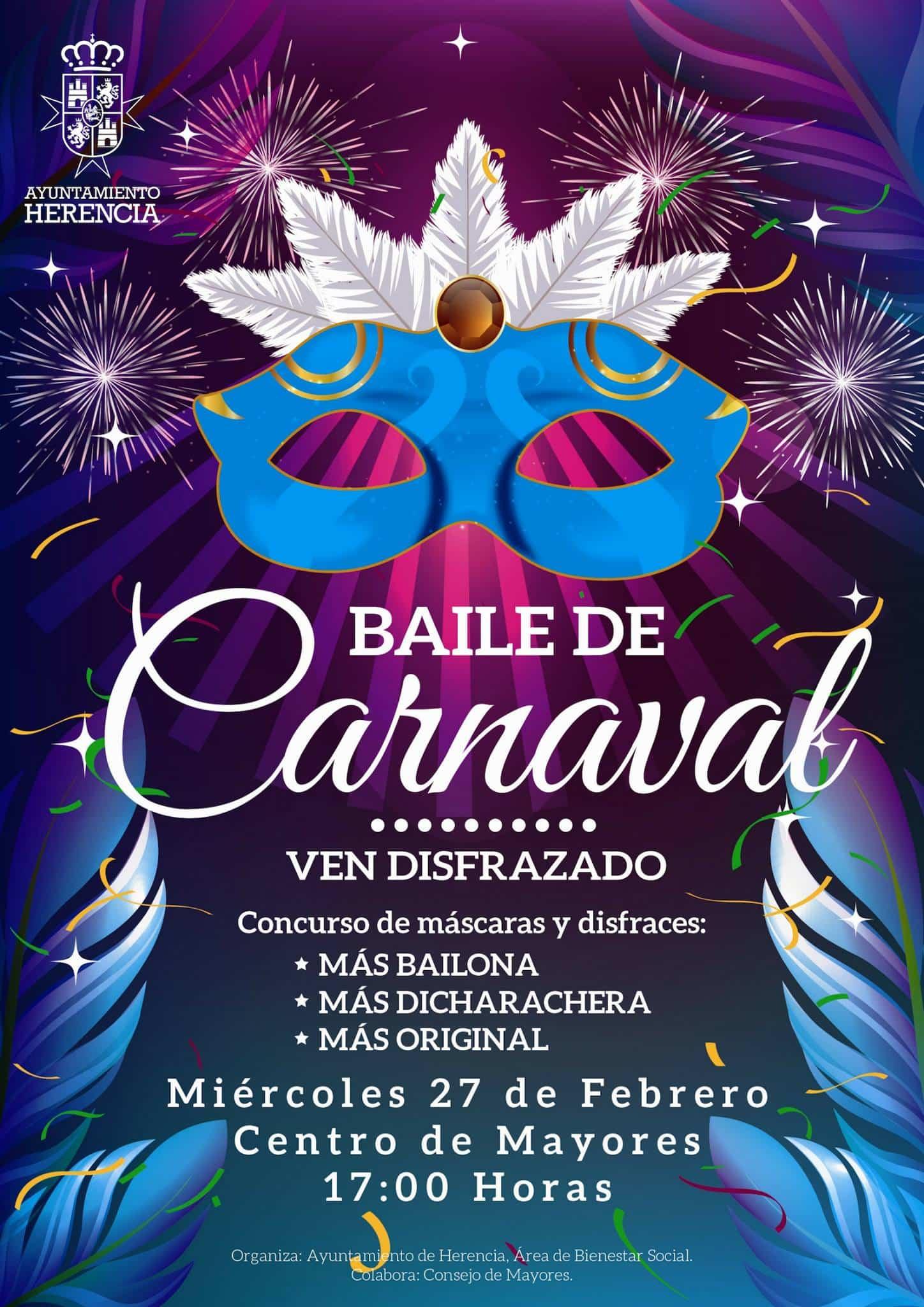 Baile de Carnaval en el Centro de Mayores de Herencia 3