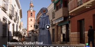 El Carnaval de Herencia otra vez protagonista de TVE en España Directo