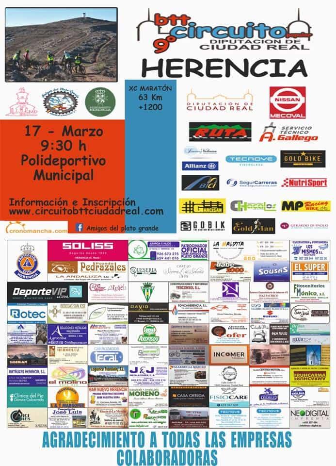 cartel 9 circuito btt ciudad real - Abiertas inscripciones de la 9ª edición del Circuito Popular BTT Diputación de Ciudad Real