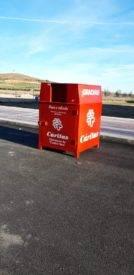 contenedores caritas1 134x275 - Ayuntamiento y Cáritas Diocesana de Ciudad Real convenían la recogida de ropa usada