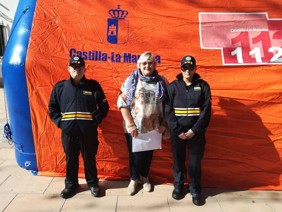 entrega material proteccion civil argamasilla 1 - Entrega de material subvencionado para Protección Civil en Argamasilla de Alba