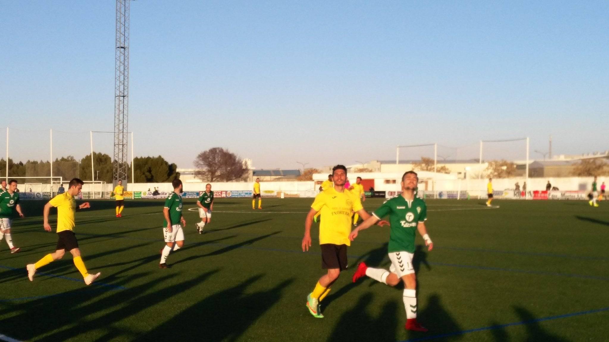 herencia cf vs las mesas futbol herencia 1 - Herencia C.F. suma otros 3 puntos frente Las Mesas