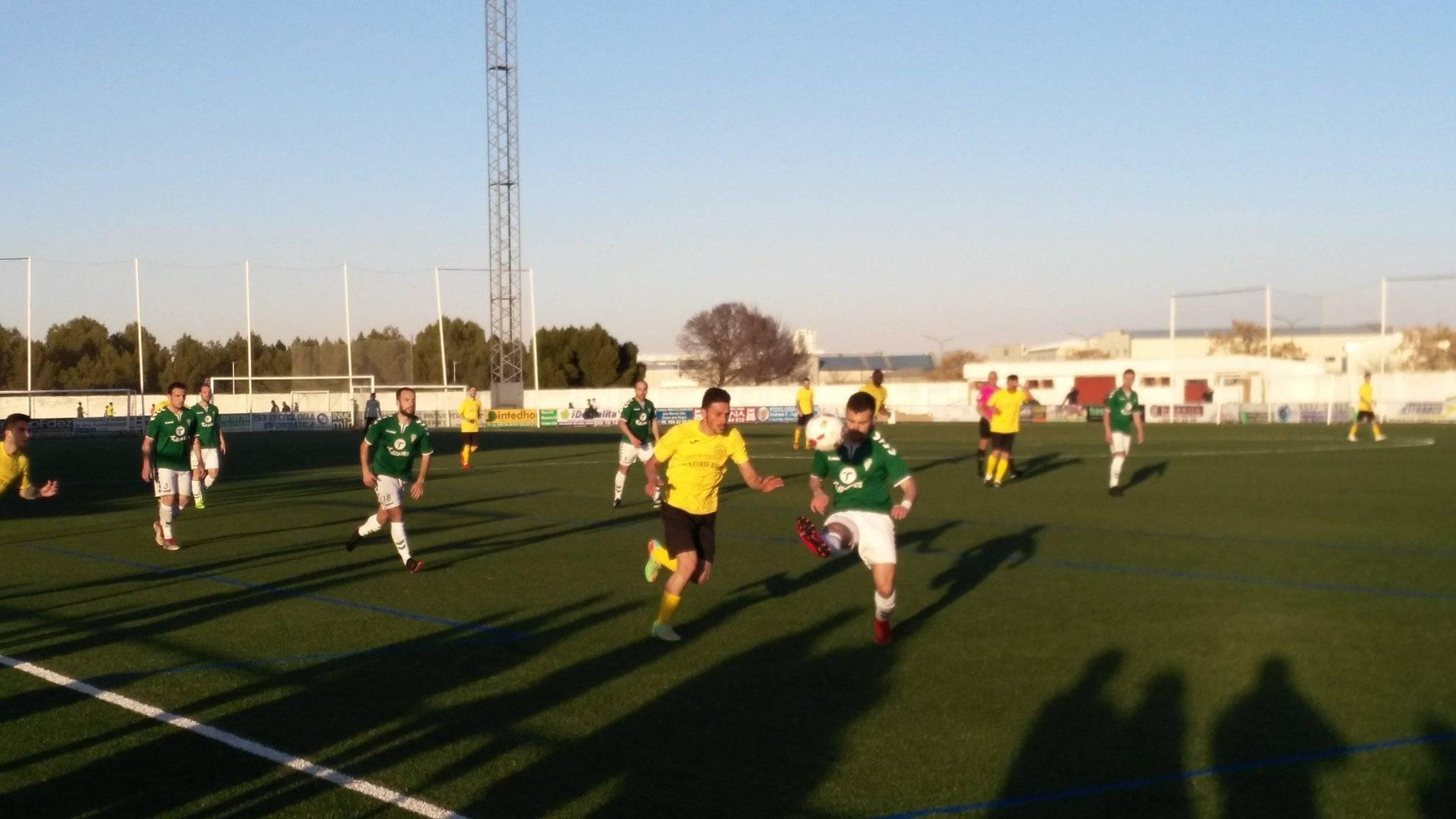 herencia cf vs las mesas futbol herencia 2 - Herencia C.F. suma otros 3 puntos frente Las Mesas