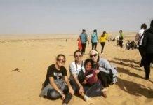 Tres jóvenes herencianas visitan los campamentos de refugiados saharauis