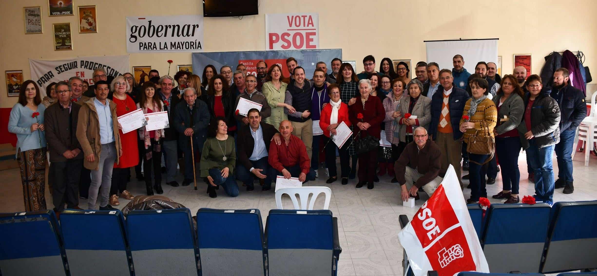 """homenaje concejales democraticos psoe herencia - El PSOE de Herencia rinde un """"merecido homenaje"""" a todos los hombres y mujeres que han contribuido a transformar el municipio"""
