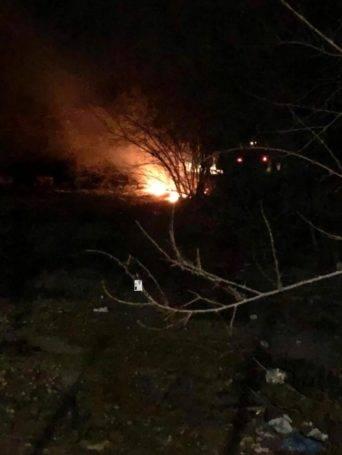 incendio por antigua granja de pollos herencia 5 342x455 - Incendio por la zona de la antigua granja de pollos en Herencia