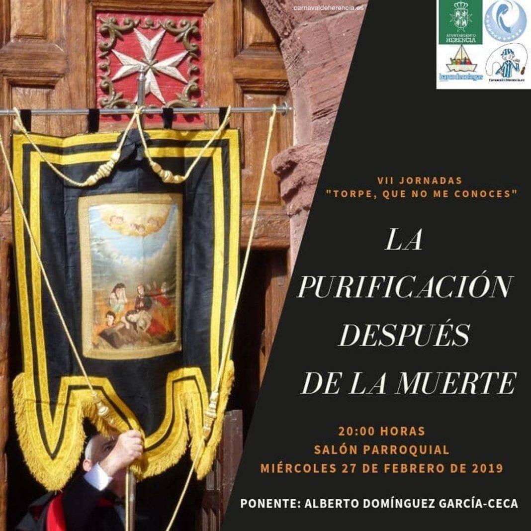 """""""La Purificación después de la muerte"""" en las Jornadas Culturales del Carnaval de Herencia 1"""
