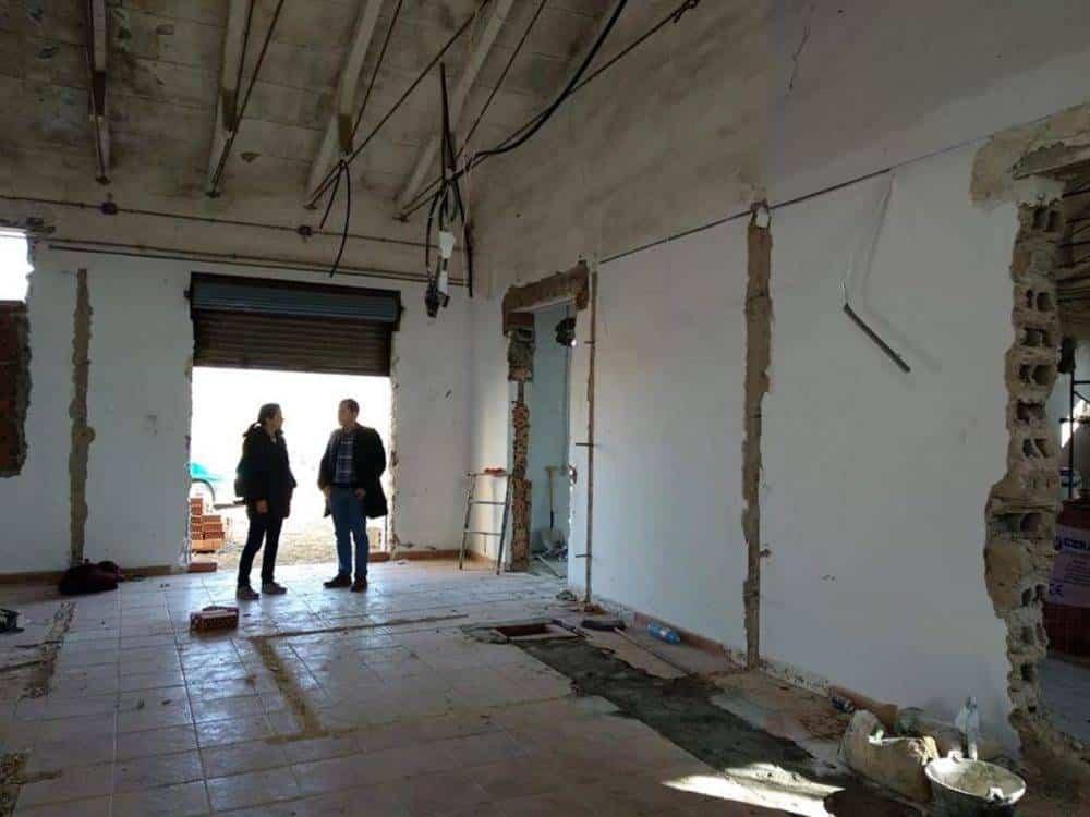 Comienzan las obras para construir el Centro de Interpretación del Queso de Herencia 2