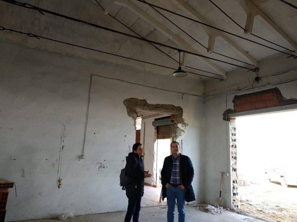 Comienzan las obras para construir el Centro de Interpretación del Queso de Herencia 3