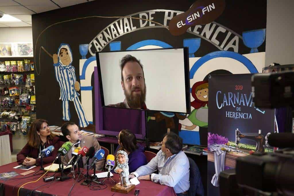 presentacion carnaval herencia 2019 edu soto - Presentado oficialmente el Carnaval de Herencia y el futuro Palacio del Carnaval