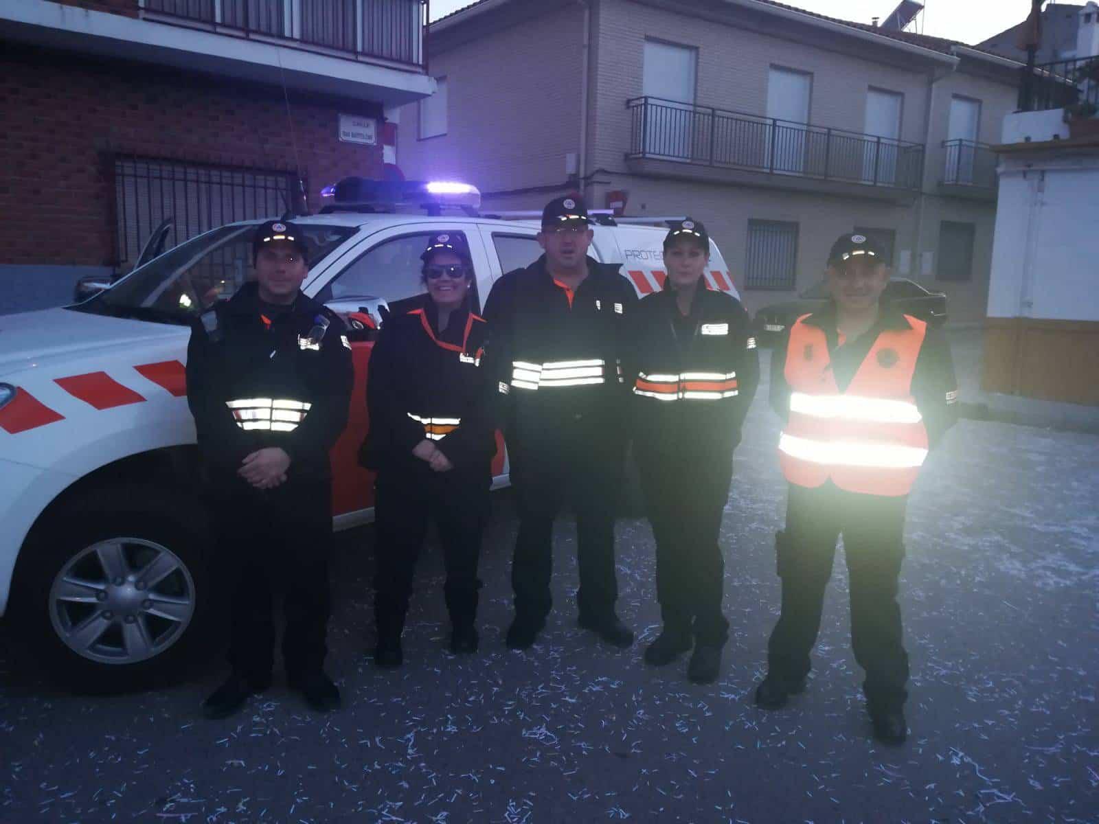 proteccion civil desfile domingo deseosas - Preventivo de Protección Civil en el Domingo de las Deseosas