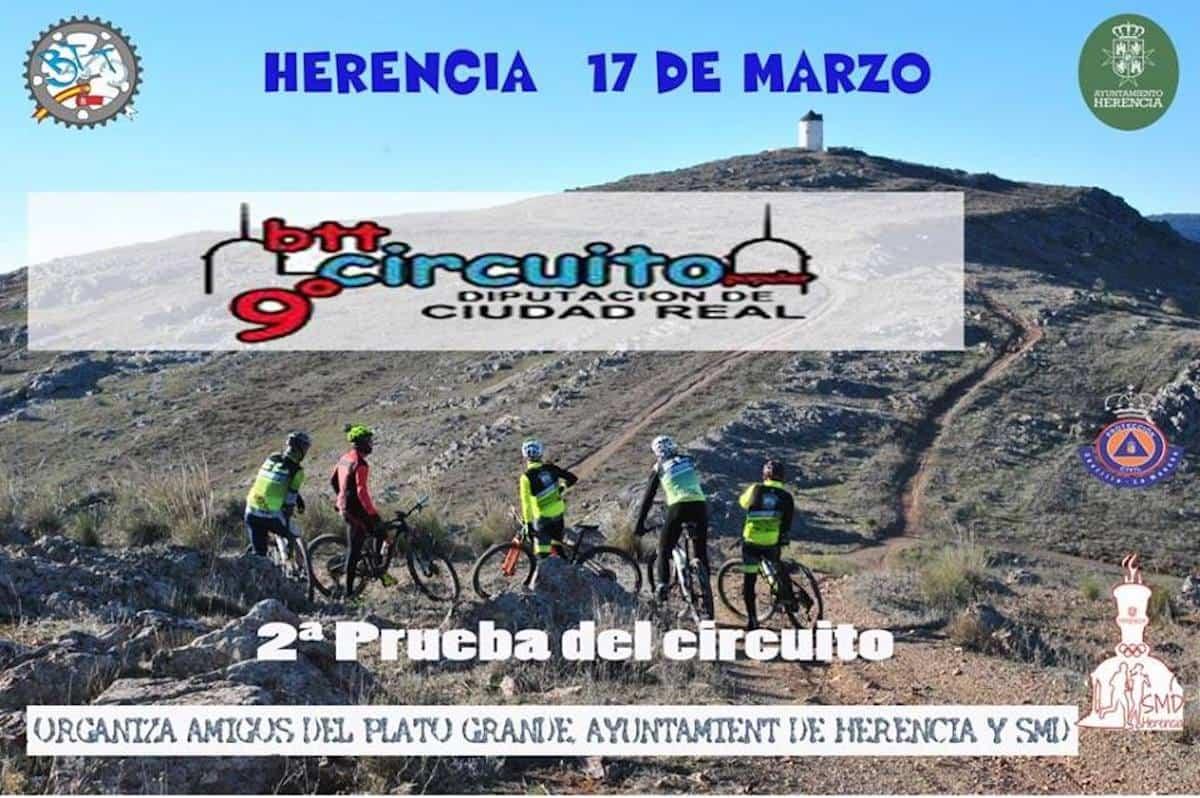 segunda prueba del circuito btt herencia - Abiertas inscripciones de la 9ª edición del Circuito Popular BTT Diputación de Ciudad Real