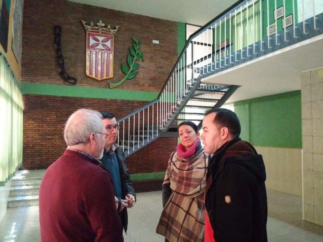 seminario menor mercedario colegio mixto visita ayuntamiento herencia 6 1068x801 - Seminario Menor Mercedario recibe al Ayuntamiento para dar a conocer sus novedades