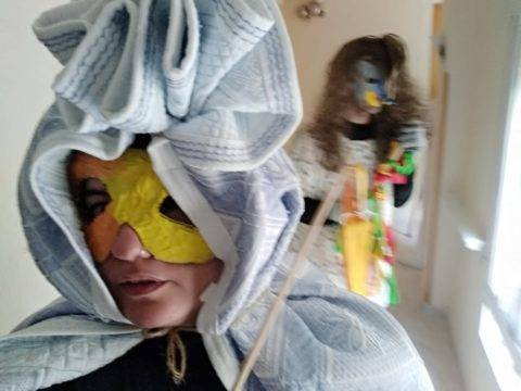 taller mascaras carnaval residencia san francisco 1 480x360 - El Taller de Historia Local en la Residencia San Francisco de Herencia