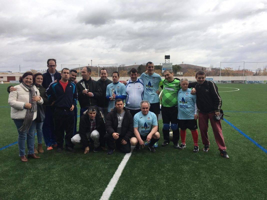 Finalizó el campeonato de Fútbol 7 inclusivo en Herencia 14