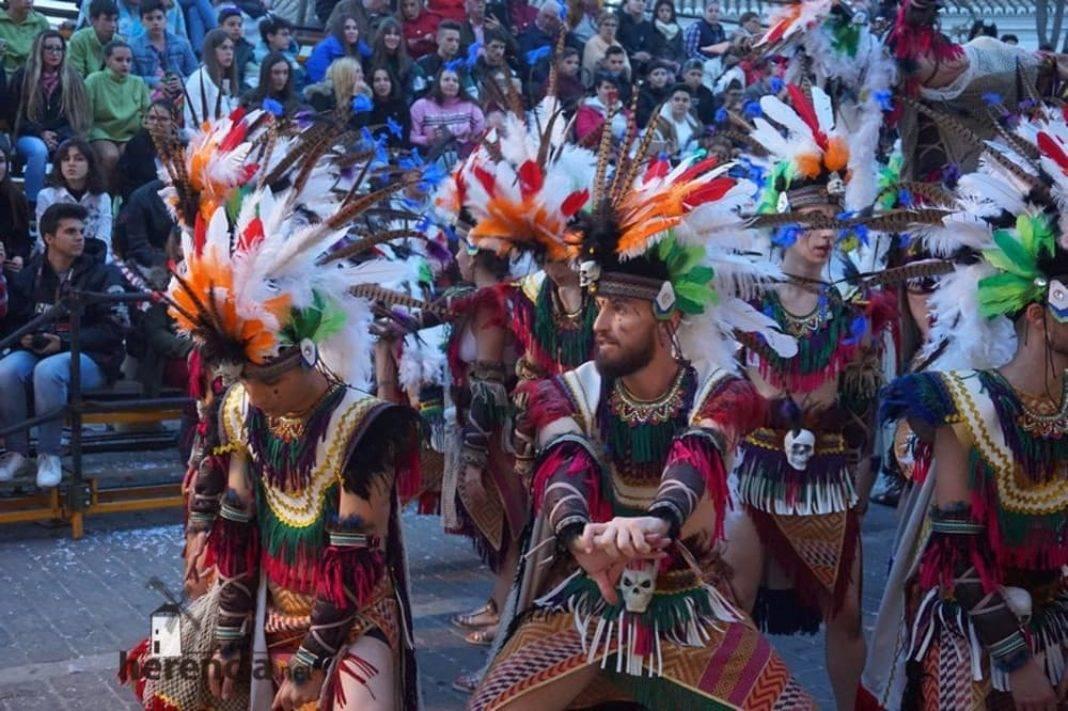 Ofertorio Carnaval de Herencia 2019214 1068x711 - Axonsou logra un nuevo premio en el desfile de comparsas con carrozas de Mota del Cuervo