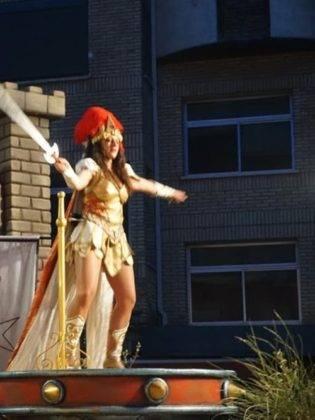 Ofertorio Carnaval de Herencia 2019331 315x420 - Axonsou y Burleta de Criptana destacaron en el Ofertorio 2019