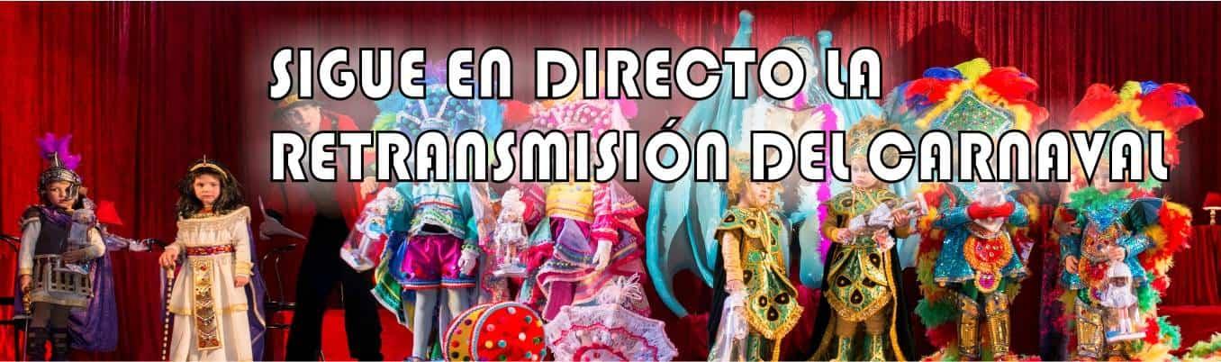 Emisión en directo de la inauguración del Carnaval de Herencia 2019