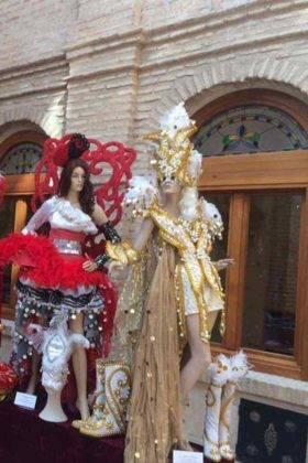 Fotografías de la Exposición de trajes del Carnaval de Herencia 10