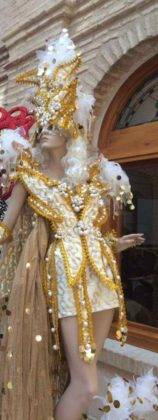 exposicion trajes carnaval herencia 17 158x420 - Fotografías de la Exposición de trajes del Carnaval de Herencia