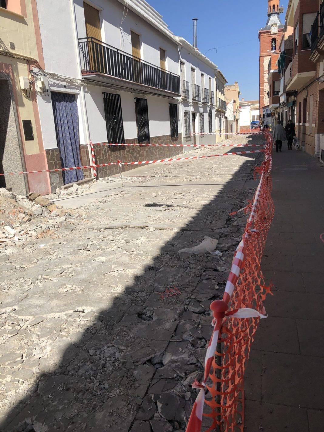 Comienzan las obras en la Calle Lope de Vega 9