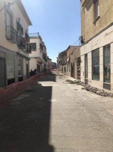 obras lope de vega herencia 2 226x302 - Comienzan las obras en la Calle Lope de Vega