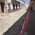 Comienzan las obras en la Calle Lope de Vega 6