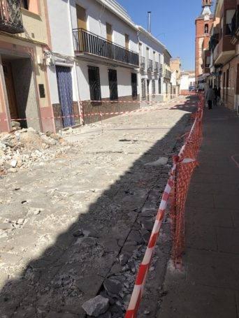 obras lope de vega herencia 4 342x455 - Comienzan las obras en la Calle Lope de Vega