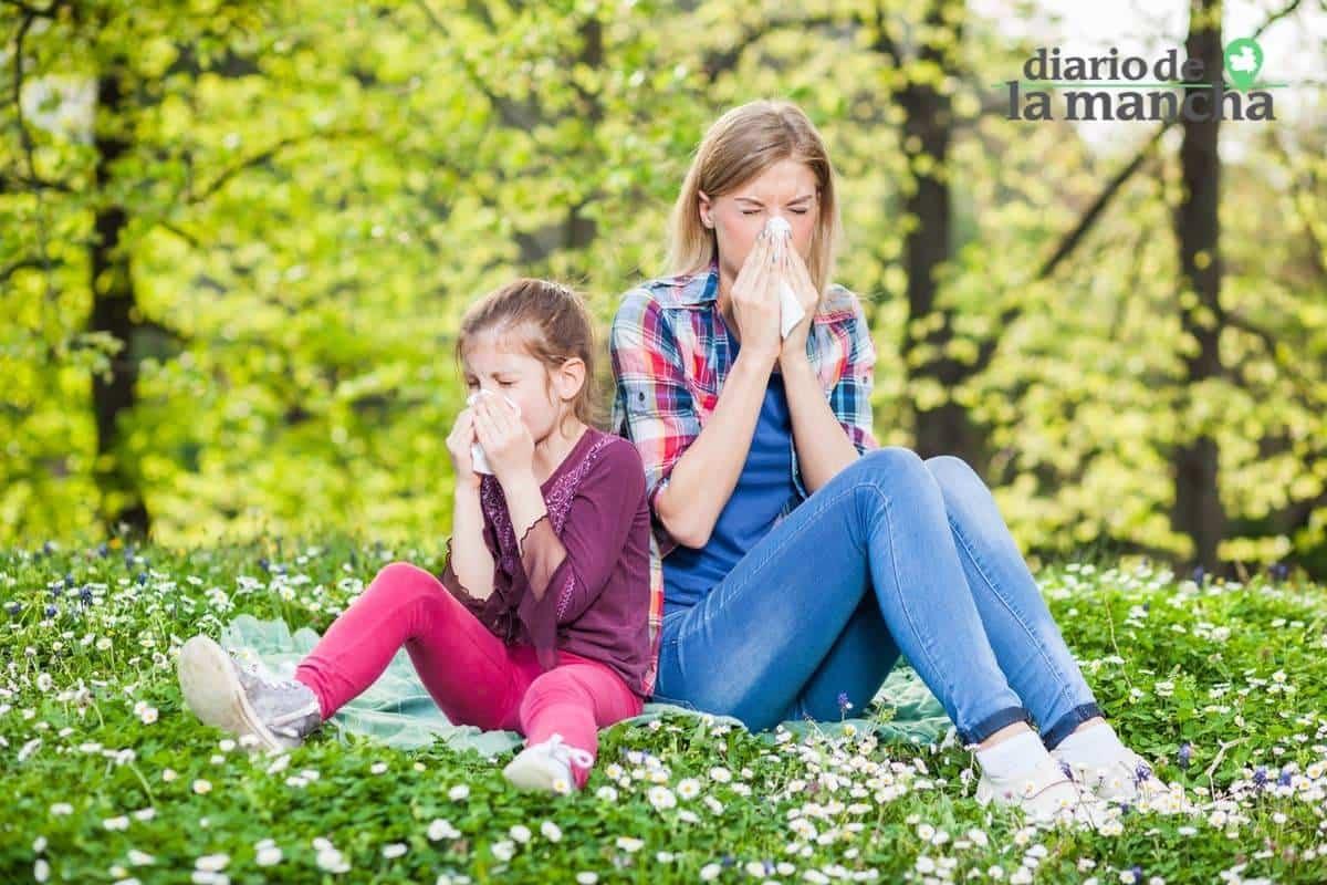 polen alergias castilla la mancha - Información al ciudadano de los niveles de polen y esporas en la atmósfera