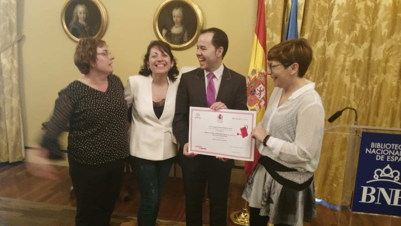 premio maria moliner biblioteca cervantes herencia 1 - La Biblioteca Pública Miguel de Cervantes recibe el premio María Moliner