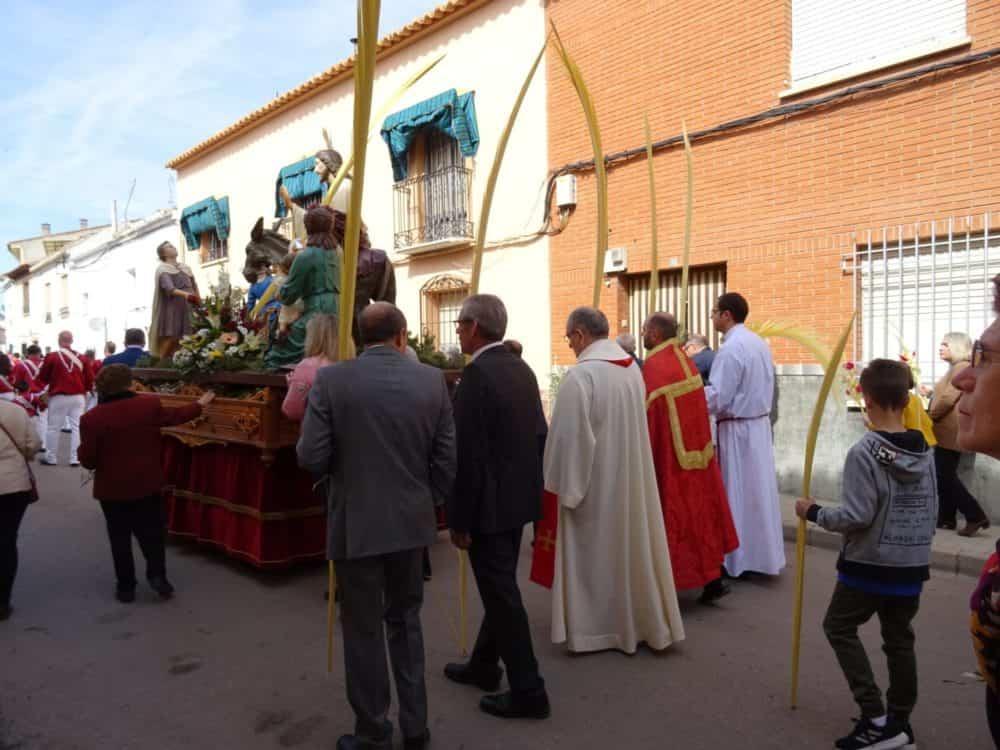 Buen tiempo y devoción, en la celebración del Domingo de Ramos 34