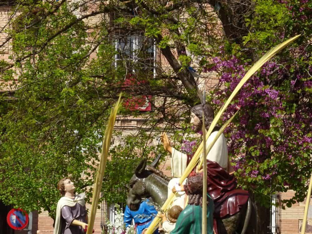 03Procesion de la Borriquilla del Domingo de Ramos en Herencia Foto Mari Carmen Fdez Caballero 1000x750 - Buen tiempo y devoción, en la celebración del Domingo de Ramos
