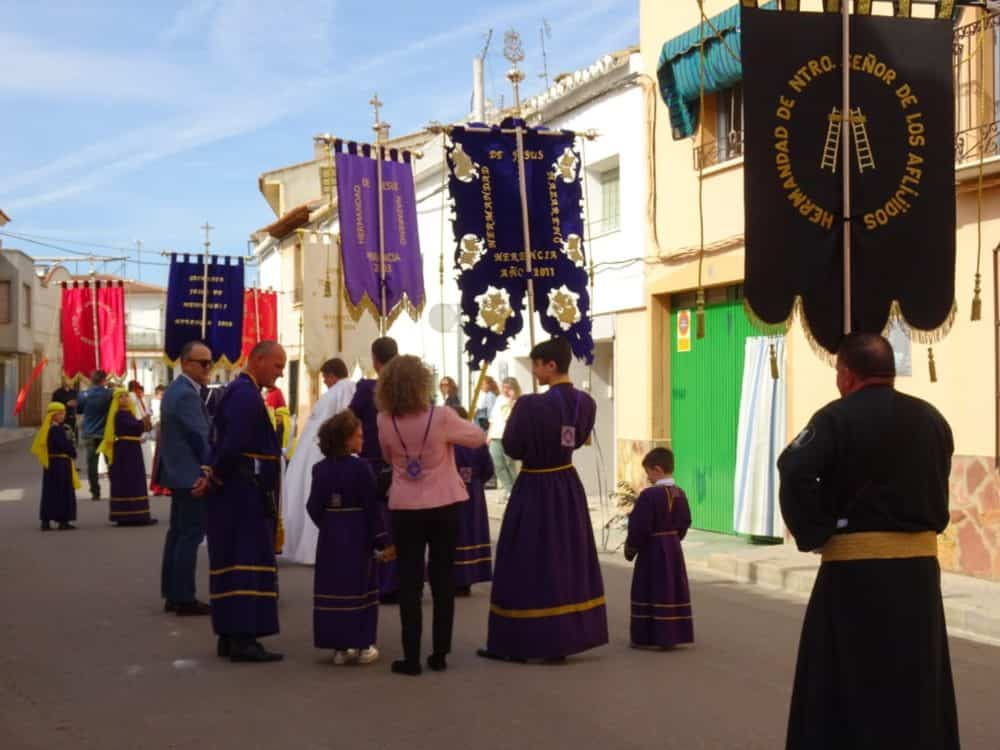 Buen tiempo y devoción, en la celebración del Domingo de Ramos 38