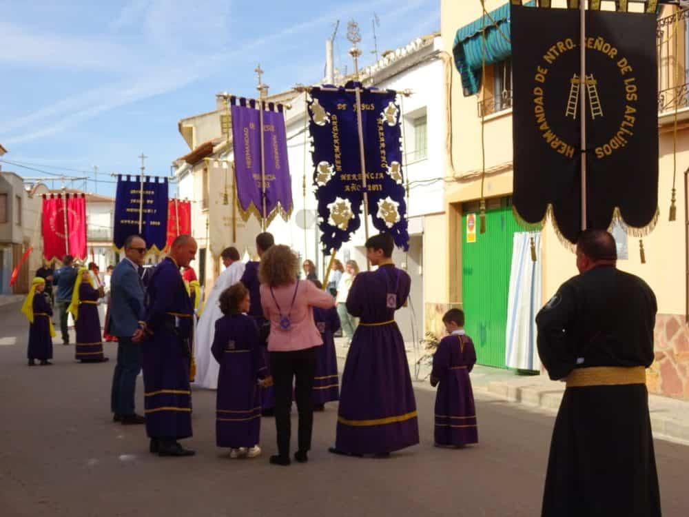 05Procesion de la Borriquilla del Domingo de Ramos en Herencia Foto Mari Carmen Fdez Caballero 1000x750 - Buen tiempo y devoción, en la celebración del Domingo de Ramos