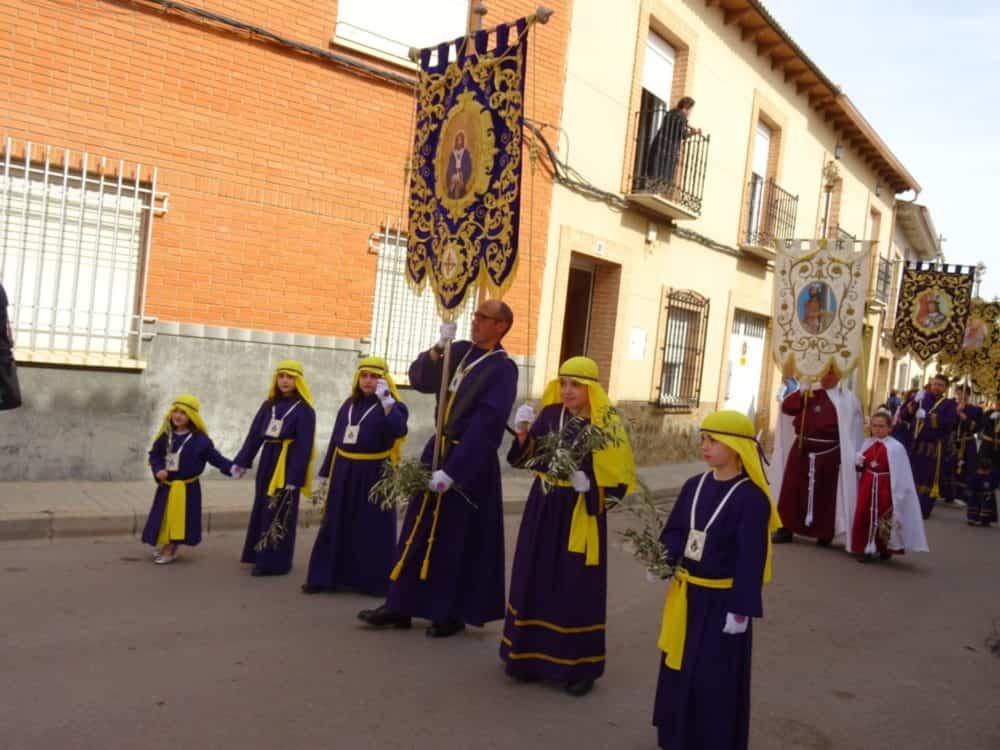 Buen tiempo y devoción, en la celebración del Domingo de Ramos 41
