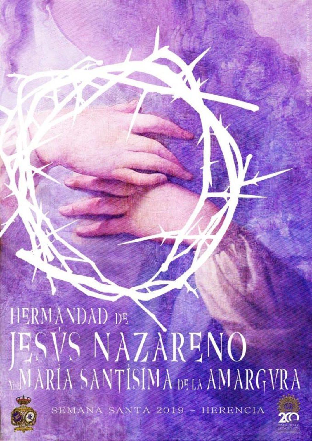 """Cartel de Semana Santa de los Moraos de Herencia 1068x1510 - Quadratum Vidit hace el cartel de Semana Santa de """"Los Moraos"""""""