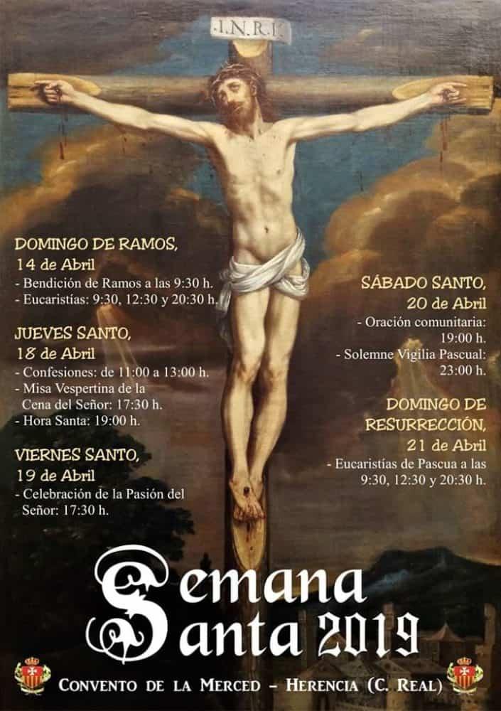 Celebraciones de Semana Santa en la Iglesia Conventual de la Merced 705x1000 - Celebraciones de Semana Santa en la iglesia conventual de La Merced